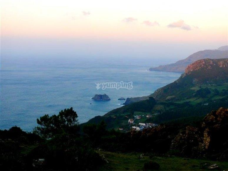 San Andrés y acantilados