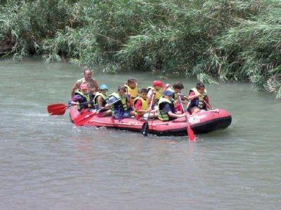 Descenso de rafting en el río Segura, 3 horas
