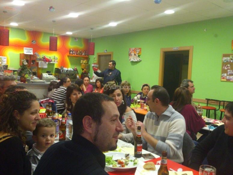 Cafetería para los padres