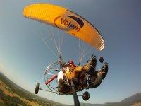 滑翔伞串联