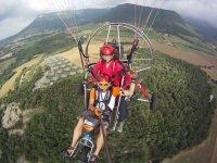 滑翔伞飞越加泰罗尼亚