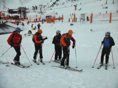 Mountain Skiing Introduction in Vallter 2000, 1d