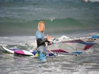 滑浪风帆学生赫罗纳沙风帆运动实践