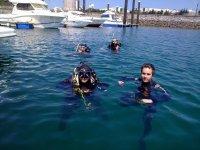 Amanecer submarino
