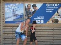 风筝冲浪和帆板运动的学校