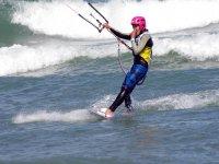 风筝冲浪在玫瑰湾