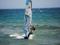 Windsurf en la Bahía de Roses