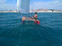 在Altafulla的帆船课