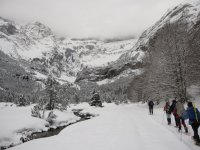Snowshoes in the Central Pyrenees