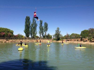 Adventure camp in Badajoz