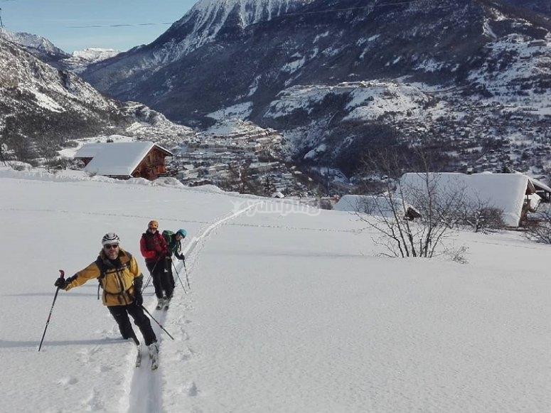 探索赫罗纳的山地滑雪