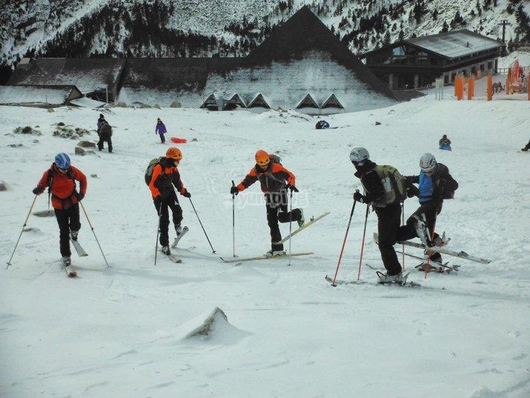 赫罗纳的滑雪道