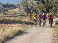 Rutas de bicicleta en Grupo