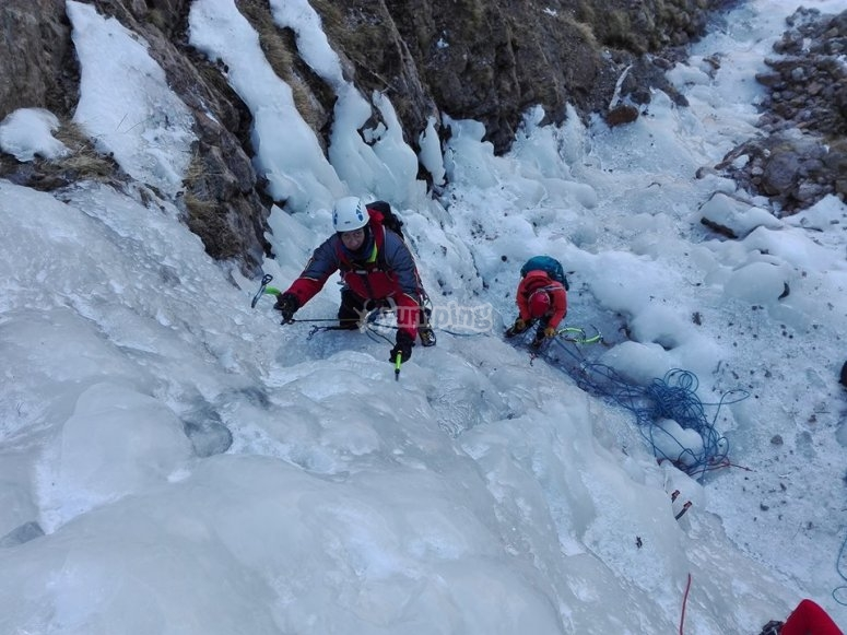 Jornada de alpinismo en Gerona