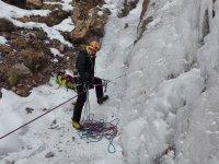 Alpinismo en hielo en Gerona