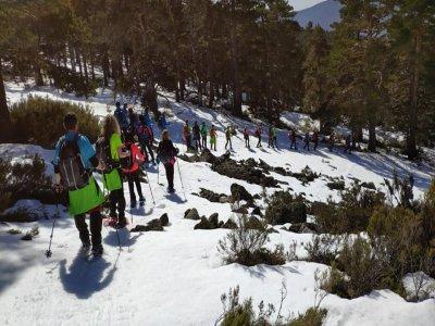 Raquetas de nieve en Santa Inés, 3 horas
