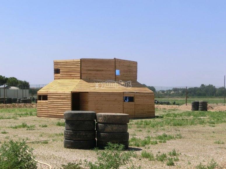 Escenario de la fortaleza