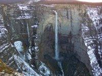 峡谷漂泊的下降