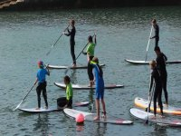 Practice SUP in group