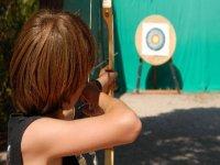 Practica tiro con arco en Segovia