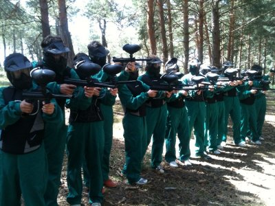 Paintball roud with 100 balls in Soria