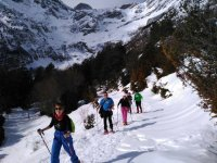 Going up through the Pineta Valley