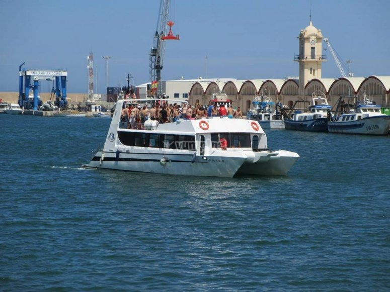 Partyboat en Gandía