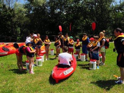 Descenso Sella en canoa de Arriondas a Ribadesella