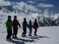 Alquila el material de esquí
