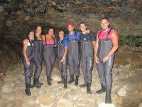Speleologia per team building