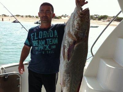 Giornate di pesca + bevande, Sancti Petri, 3 ore