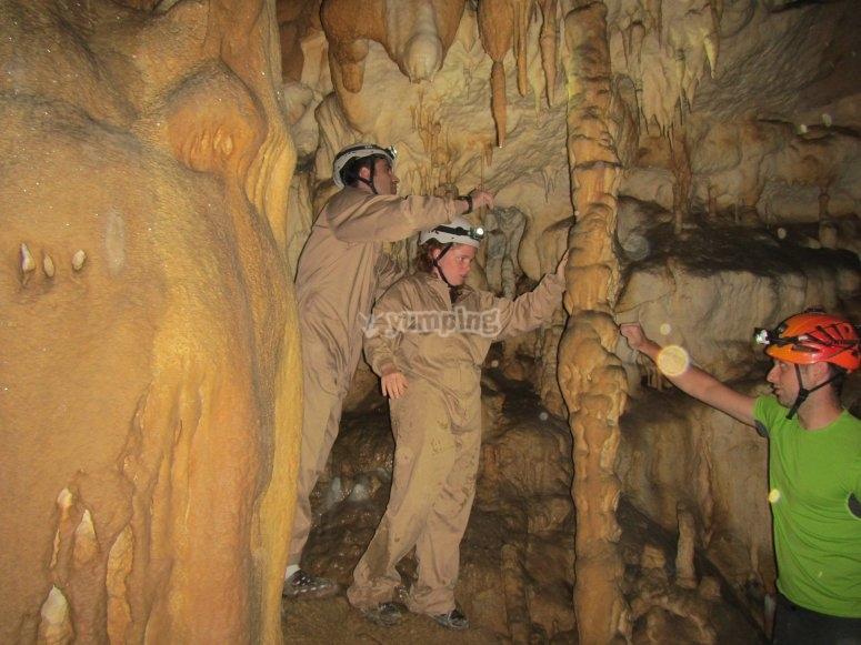 Cueva en Picos de Europa