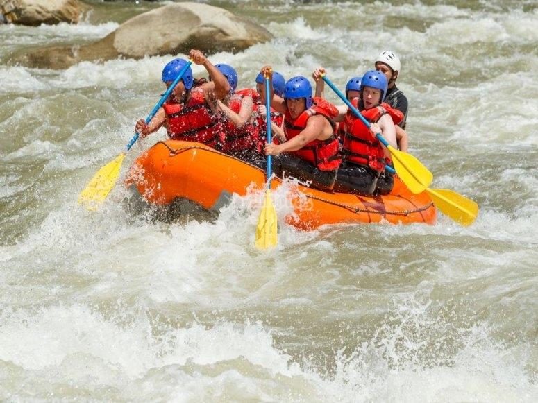 Prueba el rafting
