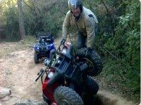 Acrobacias sobre quad