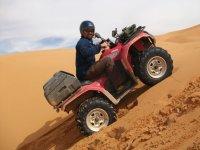 Subiendo cuestas en el desierto