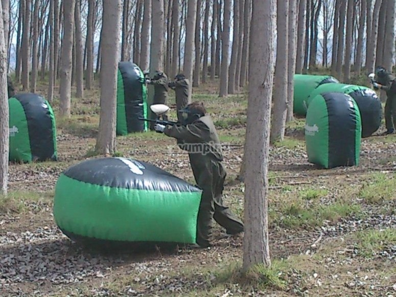 Strategia di paintball