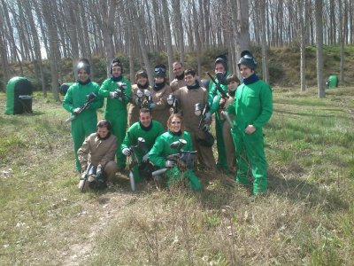 Gioco Paintball 200 palline in Castejón
