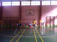 Doing sport