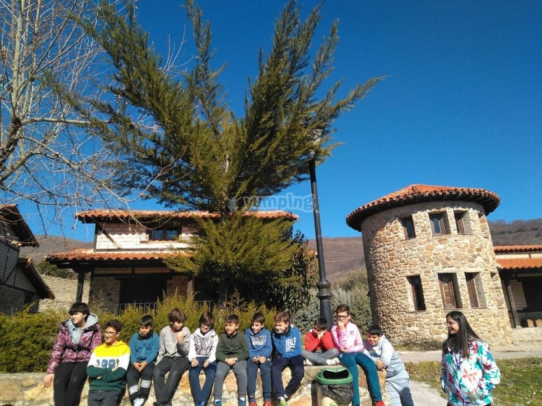 Music camp in Caceres