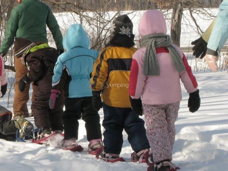 Raquetas de nieve infantiles