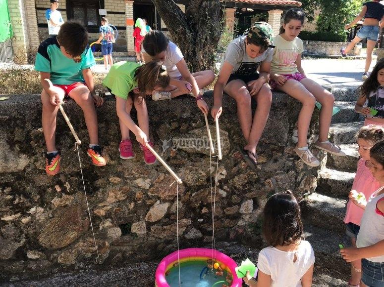 Actividades con agua en verano
