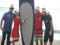 Navidades surferas