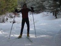 享受雪地穿越