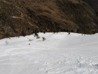 材料高山滑雪雪的环境