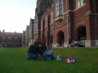 Alumnos en Inglaterra