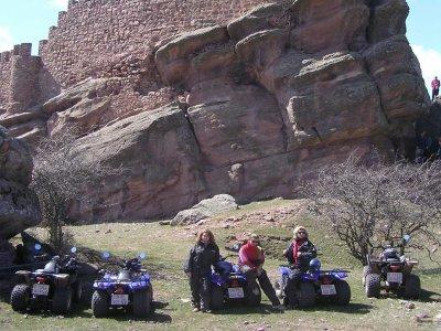 路线3h quad biplaza,Castillo de Zafra-Caldereros