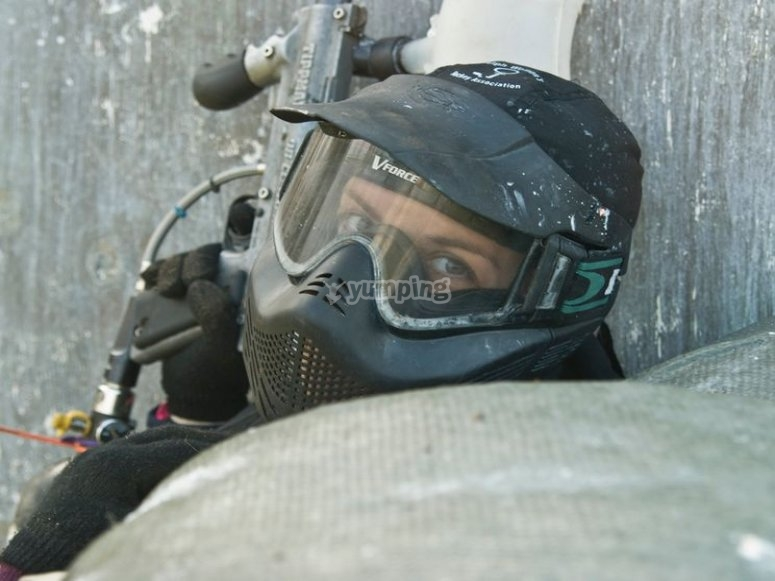 Emozione in paintball