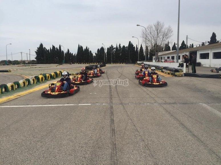 Preparados para competir en la conducción