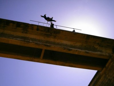 2 bungee jumps in Fuentealbilla, Albacete