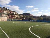 El campo de fútbol